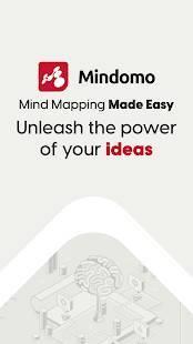 Androidアプリ「Mindomo (マインドマップ)」のスクリーンショット 1枚目