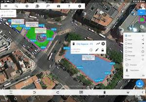 Androidアプリ「Measure Map Pro」のスクリーンショット 5枚目