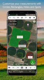 Androidアプリ「Measure Map Lite」のスクリーンショット 2枚目