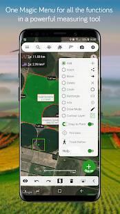 Androidアプリ「Measure Map Lite」のスクリーンショット 3枚目