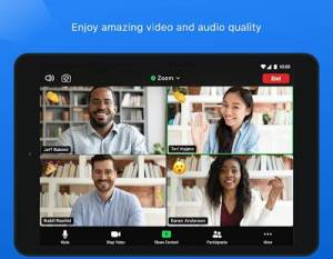 Androidアプリ「ZOOM Cloud Meetings」のスクリーンショット 2枚目
