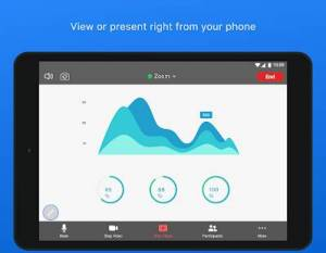 Androidアプリ「ZOOM Cloud Meetings」のスクリーンショット 3枚目