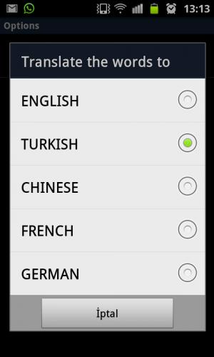 Androidアプリ「5言語と英語カード」のスクリーンショット 4枚目