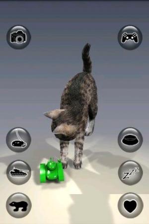 Androidアプリ「リアリティ猫を話す」のスクリーンショット 3枚目