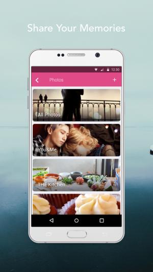 Androidアプリ「LoveByte - Relationship App」のスクリーンショット 4枚目