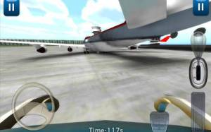 Androidアプリ「3D空港バス駐車場」のスクリーンショット 4枚目