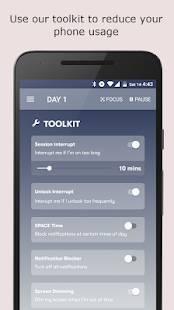 Androidアプリ「SPACE: Break phone addiction, stay focused」のスクリーンショット 5枚目