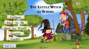 Androidアプリ「The Little Witch at School」のスクリーンショット 1枚目