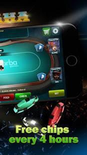 Androidアプリ「ポーカーライブ」のスクリーンショット 4枚目
