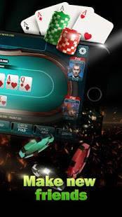Androidアプリ「ポーカーライブ」のスクリーンショット 2枚目