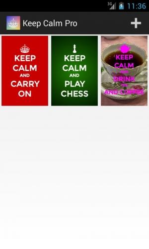 Androidアプリ「Keep Calm Pro」のスクリーンショット 4枚目