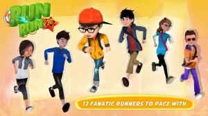 Androidアプリ「RUN RUN 3D」のスクリーンショット 3枚目