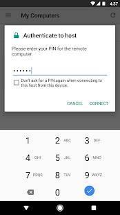 Androidアプリ「Chrome リモート デスクトップ」のスクリーンショット 2枚目