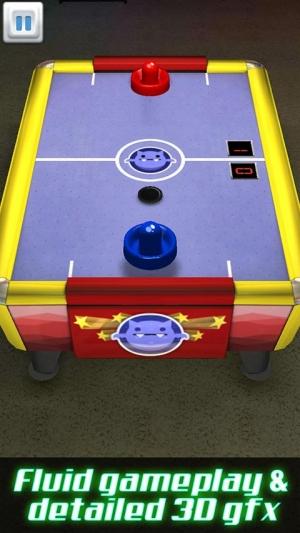 Androidアプリ「Air Hockey 3D」のスクリーンショット 2枚目