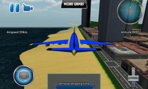 Androidアプリ「平面フライトシミュレータ3D」のスクリーンショット 4枚目