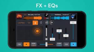 Androidアプリ「Cross DJ Free - dj mixer app」のスクリーンショット 5枚目