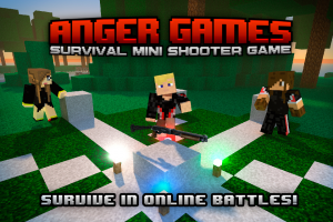 Androidアプリ「Anger Games - hunger survival」のスクリーンショット 1枚目