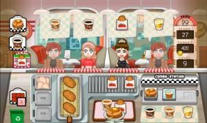 Androidアプリ「ハンバーガーの幸せな日」のスクリーンショット 4枚目