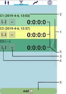 Androidアプリ「タイマー時間管理」のスクリーンショット 3枚目