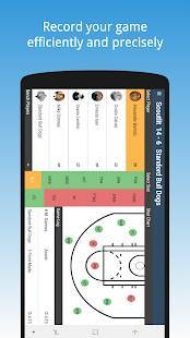 Androidアプリ「Basketball Stats Keeper」のスクリーンショット 5枚目