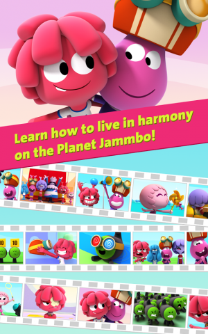 Androidアプリ「Jelly Jamm 2 - Videos for Kids」のスクリーンショット 2枚目