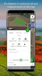 Androidアプリ「Measure Map」のスクリーンショット 4枚目