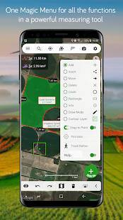 Androidアプリ「Measure Map」のスクリーンショット 3枚目