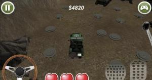 Androidアプリ「軍用車両の障害物レース」のスクリーンショット 2枚目