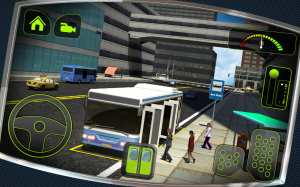 Androidアプリ「Bus Driver 3D」のスクリーンショット 5枚目