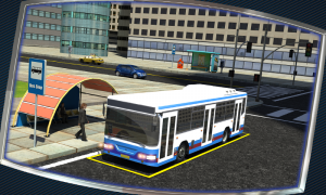 Androidアプリ「Bus Driver 3D」のスクリーンショット 2枚目