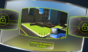 Androidアプリ「Bus Driver 3D」のスクリーンショット 3枚目