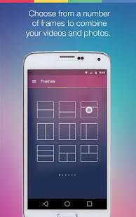 Androidアプリ「Vidstitch Pro - Video Collage」のスクリーンショット 2枚目