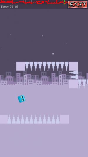 Androidアプリ「Block Runner!」のスクリーンショット 4枚目
