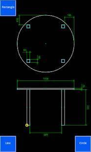 Androidアプリ「Inard CAD」のスクリーンショット 1枚目