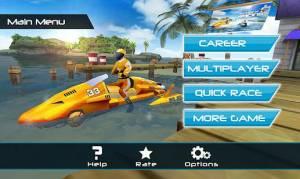 Androidアプリ「パワーボートレーシング 3D - Powerboat」のスクリーンショット 1枚目