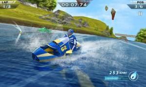 Androidアプリ「パワーボートレーシング 3D - Powerboat」のスクリーンショット 5枚目