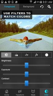 Androidアプリ「Superimpose」のスクリーンショット 5枚目