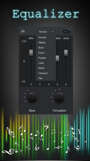 Androidアプリ「音楽イコライザー」のスクリーンショット 3枚目