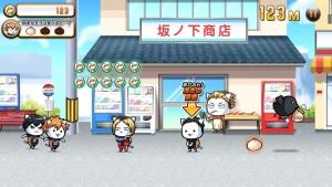 Androidアプリ「にゃんこバレー部奮闘記 ニャンキュー!!」のスクリーンショット 3枚目