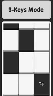 Androidアプリ「黒いとこ歩い - 白いとこ歩いたら死亡」のスクリーンショット 4枚目