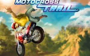 Androidアプリ「モトクロストライアル - エクストリームバイク」のスクリーンショット 1枚目