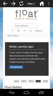 Androidアプリ「Sandbox Web Browser」のスクリーンショット 1枚目