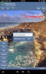 Androidアプリ「iWatermark-Watermark Photos with Logo, Text, QR...」のスクリーンショット 4枚目