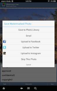 Androidアプリ「iWatermark-Watermark Photos with Logo, Text, QR...」のスクリーンショット 2枚目
