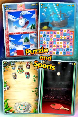 Androidアプリ「101-in-1ゲーム アンソロジー」のスクリーンショット 3枚目