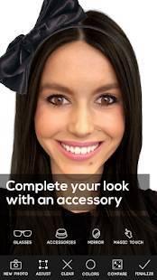 Androidアプリ「Hair Color Studio Premium」のスクリーンショット 4枚目