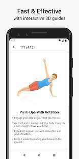 Androidアプリ「Seven - 7 Minute Workout」のスクリーンショット 2枚目