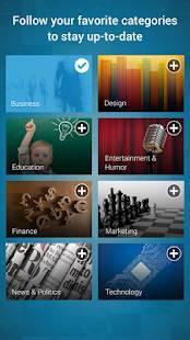 Androidアプリ「LinkedIn SlideShare」のスクリーンショット 3枚目