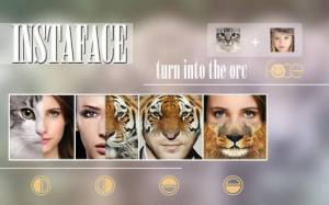 Androidアプリ「Beauty Face Plus :  face morphing」のスクリーンショット 2枚目