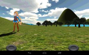 Androidアプリ「ONIKUMA 2 進撃のユニティちゃん 3D」のスクリーンショット 3枚目